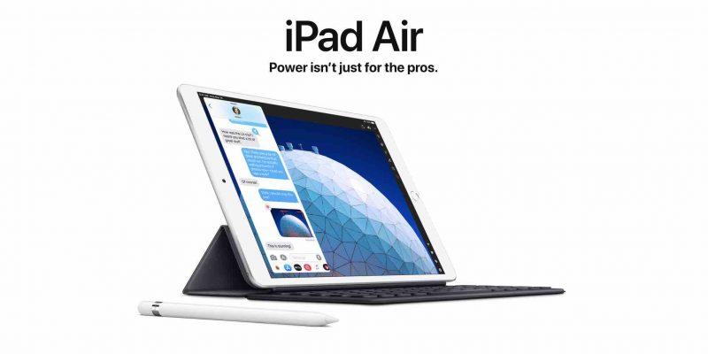 Apple ra mắt iPad Air: Màn hình 10.5 inch và cấu hình mạnh hơn