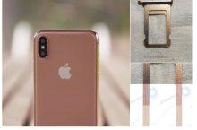 Apple có thể sẽ ra mắt phiên bản màu vàng đồng cho iPhone X