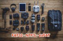 Điểm khác nhau giữa các định dạng FAT32, NTFS và exFAT