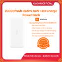 Sạc Dự Phòng Xiaomi Redmi Power Bank 20000mAh - Hàng chính hãng - Bảo hành 6 tháng