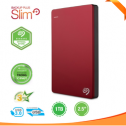 Seagate Backup Plus Slim Portable Drive 1TB Red STDR1000303