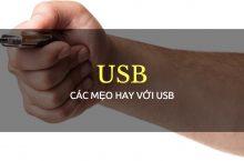 Cách Format USB theo định dạng NTFS, FAT32 hoặc exFAT