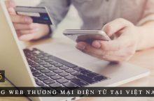 Top 5 trang Web thương mại điện tử lớn tại Việt Nam