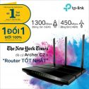 TP-Link_Archer C7 Router Gigabit Wi-Fi Băng Tần Kép AC1750
