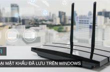 Cách xem lại mật khẩu Wifi đã kết nối trên Windows 10
